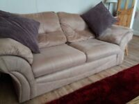 Harveys 2 and 3 seater sofas with fully removable covers for machine wash, from a smoke free home