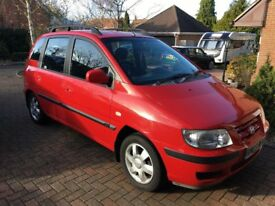 Hyundai Matrix 1.6 GSI. Low mileage for year, good condition, new battery, 12 months MOT