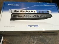 RME Fireface 800 Interface WITH Flight Case