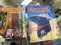 Vintage meccano magazines 1929-1935