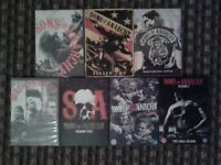 Sons Of Anarchy Seasons 1-7 DVDs