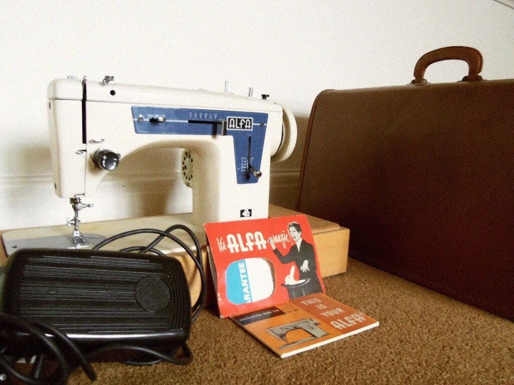 Sewing Machine Make Alfa Electric In Eltham London Gumtree