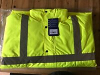 BRAND NEW Portwest Hi-Vis Jacket