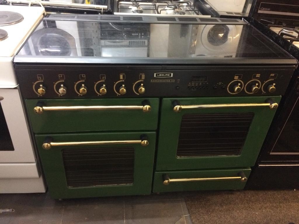 Rang master 110cm gas cooker grill & double ovens good condition with guarantee bargain