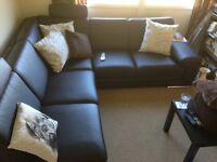 Large corner Sofa with Sofa Bed and Lazy Boy