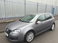 VOLKSWAGEN GOLF GT TDI 58 2008 TURBO DIESEL LOW MILES LEATHER BLUETOOTH