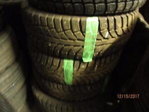 225/60R17 3 ONLY USED GT RADIAL WINTER TIRES