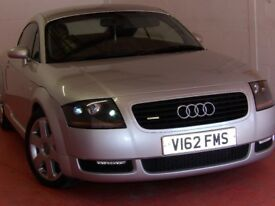 AUDI TT Quattro Roadster 225 bhp Full black Leather Genuine January Sale