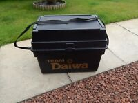 Team Diawa Seat Fishing Box