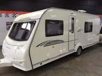 COACHMAN HIGHLANDER 560 4 BERTH, FIXED BED, FULL END WASHROOM, AWNING FULL ACCESSORIES JUST SERVICED