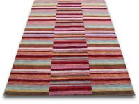 LARGE RUGS. 100% WOOL HAND LOOM AVAILABLE IN 3 COLOURS. BRAND NEW!