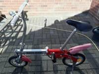 batribike micro electric folding bike