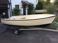 Bonwitco with 449 unsinkable boat and good trailer