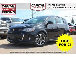 2017 Chevrolet Sonic LT HB REMOTE START HEATED SEATS SUNROOF 25K