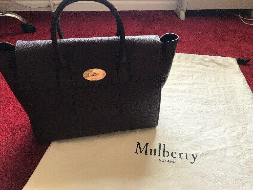 beeec58b82d1 6 images Brand new Mulberry Bayswater Oxblood handbag