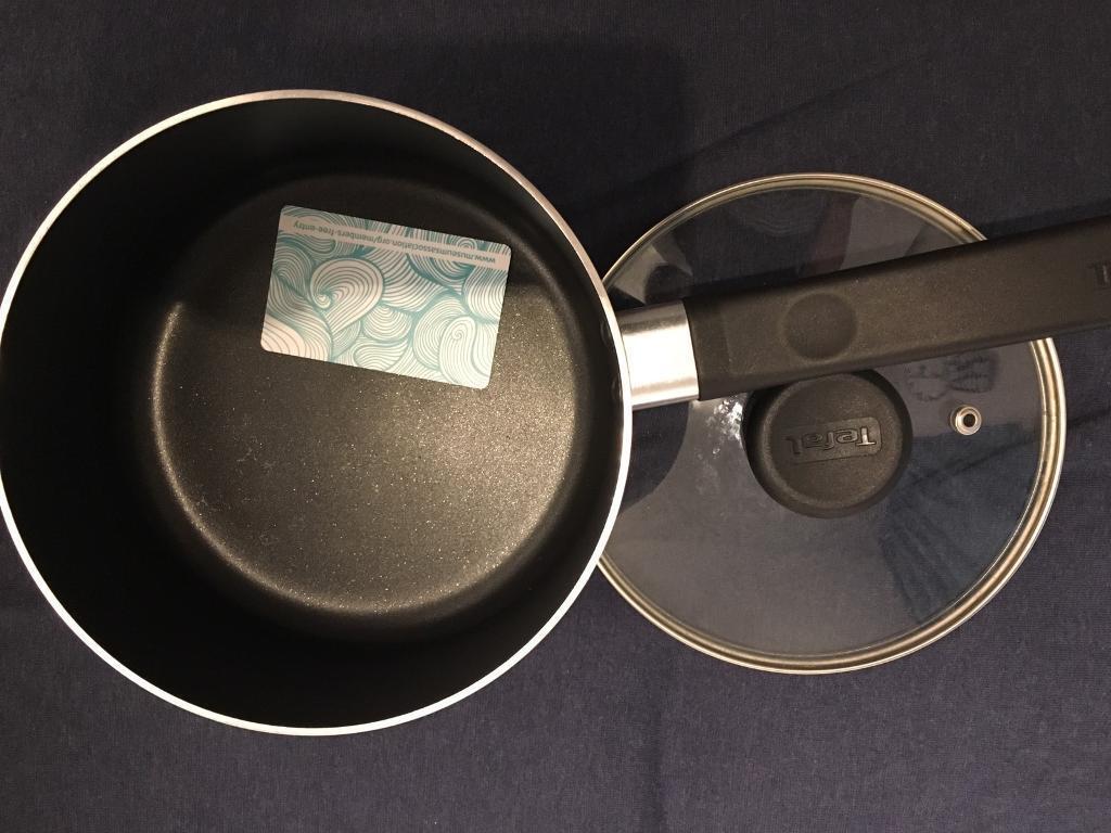 Tefal pot with lid 18cm