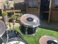 pearl 13 inch rack tom jet black