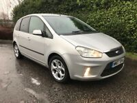 IDEAL FAMILY MPV** 2007 Ford C-Max 1.6 TDCi MK1 Zetec 5dr DIESEL, Vosa checked history BARGAIN HURRY