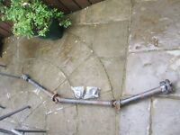 4x4 renault scenic complete propshaft+ 2 new carrier bearings which can be fitted.