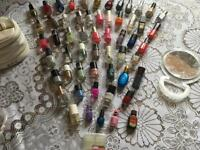 Wholesale 55 bottels nail polish some of them new and used £30