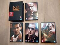 The Godfather Trilogy - Collectors Edition DVD Boxset - Excellent Condition