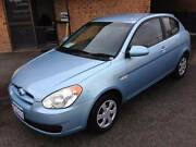 2006 Hyundai Accent Hatchback,LOWKMS, O Wangara Wanneroo Area Preview