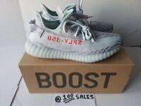 ADIDAS x Kanye West Yeezy Boost 350 V2 BLUE TINT UK10.5 US11 EU45 1/3 B37571 ADIDAS RECEIPT 100sales