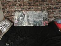 Large London Canvas