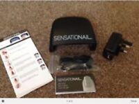 Brand new sensationail led lamp for gel nails