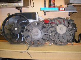 Electric Radiator fans