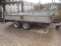 Nugent 16 ft twin axle trailer