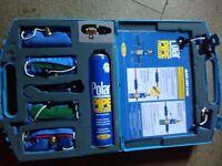 Polar pipe freezing kit