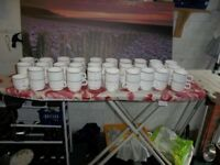 59 x Porcelain tea/coffee cups in very good condition