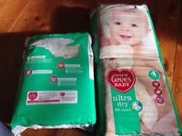 Disposable nappies size 4