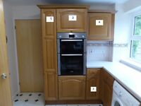 Full set of Ex Magnet kitchen units for sale in good condition as having a new kitchen