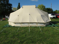 emperor 6m x 4m bell tent brand new