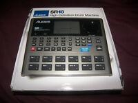 Alesis SR18 / SR-18 / Professional High-Definition Drum Machine with Effects.