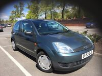 53 FORD FIESTA 1.2 3DR FINESSE MET DRIVES AND LOOKS GREAT 12 MONTHS MOT FULL HISTORY