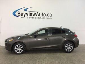 2014 Mazda Mazda3 GX- SKYACTIV! 6 SPD! A/C! PUSH BUTTON START!