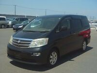 Toyota Alphard direct Japan import suppl;ied UK registered, more enroute contact Algys Autos.