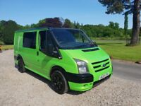 Ford transit sport rep RS green