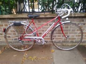 PEUGEOT MIXTE LADIES BIKE RED