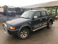 FORD RANGER XLT 2.5 TURBO DIESEL 2002 YEAR DOUBLE CAB