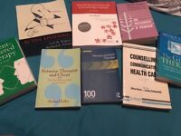 Psychology/counselling books