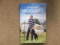 A BBC Book Adam's Farm My Life on the Land.