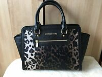 ladies mk bag animal print in mint condition accept paypal or collection