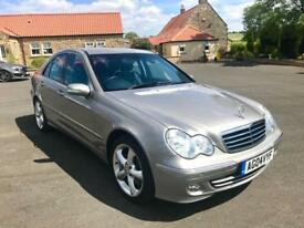 MERCEDES-BENZ C CLASS 2.1 C220 CDI AVANTGARDE SE 4d AUTO 148 BHP PX TO CLEAR- DRIVES WELL 2004