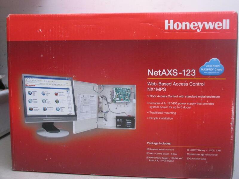 Honeywell Access NX1MPS NetAXS-123 Web-Based Access 1 Door Metal Enclosure