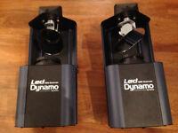2 x Acme Dynamo DMX Scanners w/ tripod stand and T bar