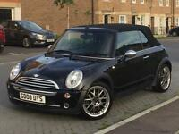 Quick Sale 2008 Mini one Cooper Convertibl 62k miles Mot 19/08/17 Drive perfct new tyres Ready to go